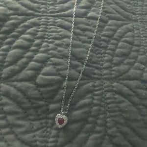Swarovski Red Heart Pendant